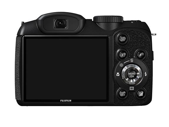 Fujifilm Finepix S2980 arka görünüm